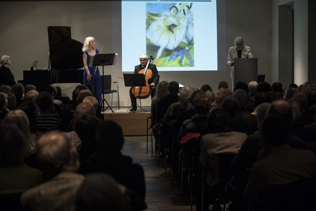 Veranstaltung zu Edgar Degas am 19. November 2017