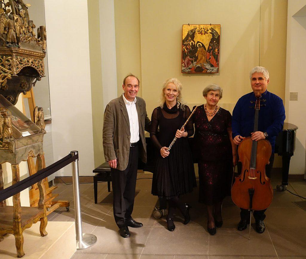 Veranstaltung zu Maxim Gorki am 4. November 2018 im Ikonenmuseum der Stadt Frankfurt mit dem Schauspieler Peter Schröder